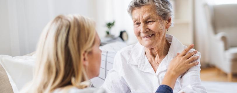qualifizierte Pflegekraft für zuhause