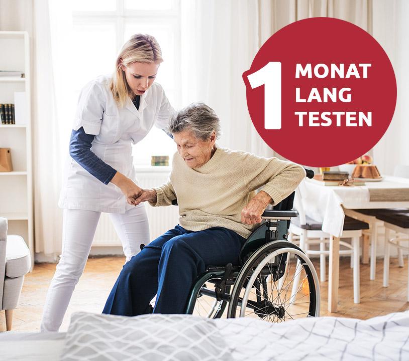 Seniorenbetreuung in Münster jetzt im Probemonat
