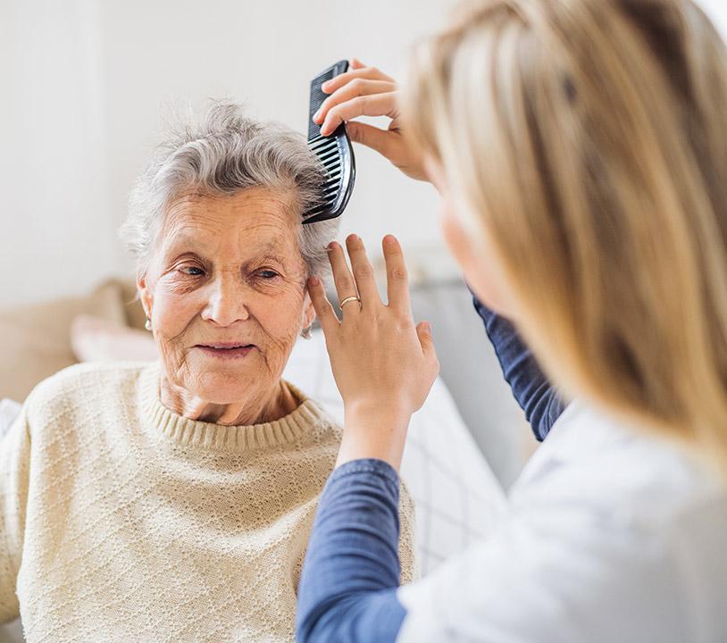 Betreuung von Senioren