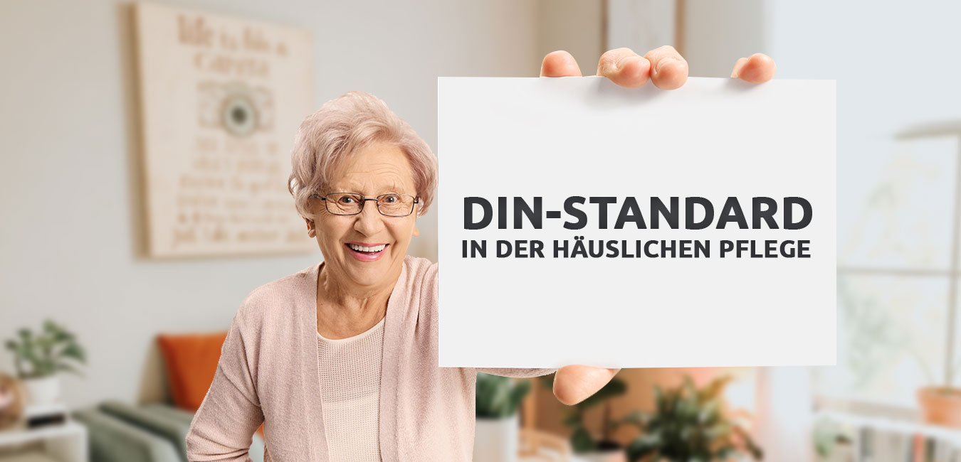 DIN-Standard in der häuslichen Pflege